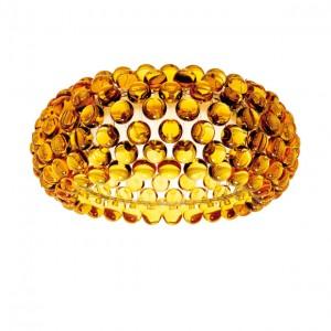 Plafoniera BUBBLE GLASS AMBER 50