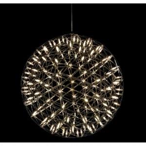CORP DE ILUMINAT PE FIR STRING dia 89cm CROMAT - LED