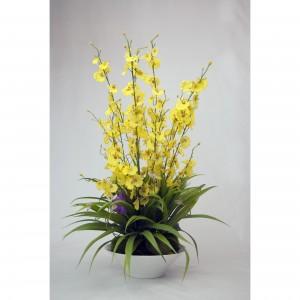 Aranjament floral cu vaza AF04