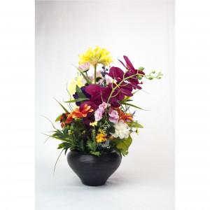 Aranjament floral cu vaza AF07