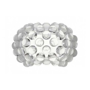 LAMPA DE PERETE BUBBLE GLASS DIA 34CM TRANSPARENT