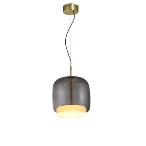 Corp de iluminat pe fir BUSHA LAMP S GREY