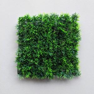 Perete plante artificiale Gypsophila ignifugă 25x25