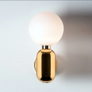 Lampa de perete POLY LIGHT GOLD