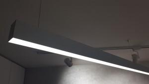 PROFIL ALUMINIU PENTRU LED SUSPENDAT 056