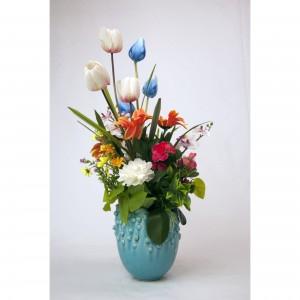 Aranjament floral cu vaza AF06
