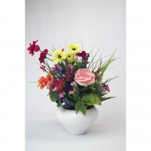Aranjament floral cu vaza AF08