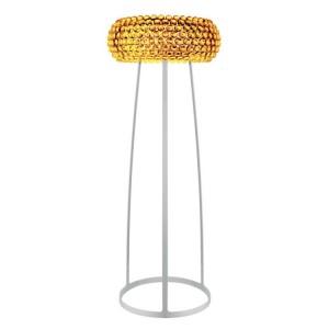 LAMPĂ DE PODEA BUBBLE GLASS DIA 65CM CHIHLIMBAR