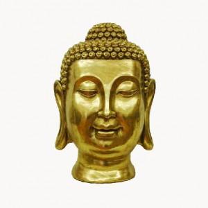 STATUETA DECORATIVA CAP BUDDHA AURIU H60 CM