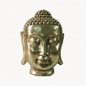 STATUETA DECORATIVA CAP BUDDHA AURIU H83 CM