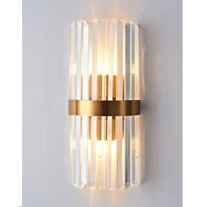 LAMPA DE PERETE X3109-B AURIU + STICLA TRANSPARENTA
