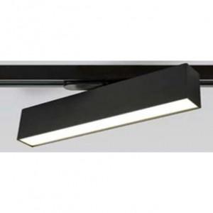 REFLECTOR LINIAR PE SINA K-609-15 NEGRU / 15W / 3000K