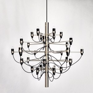Corp de iluminat pe fir NOXIOUS CHANDELIER CHROME