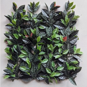 Perete plante artificiale Magnolia leaves 50x50