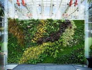 Grădini verticale artificiale