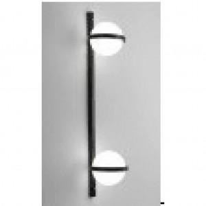 LAMPA DE PERETE IRIS WP-2 NEGRU - GLOB ALB